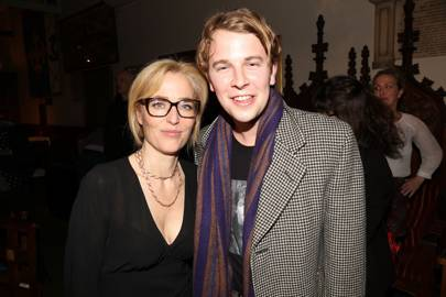 Gillian Anderson and Tom Odell