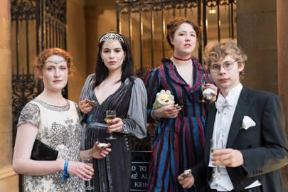 Rosa Tyler-Clark, Zoé Barnes, Sigi Chartreuse and Nathaniel Hess
