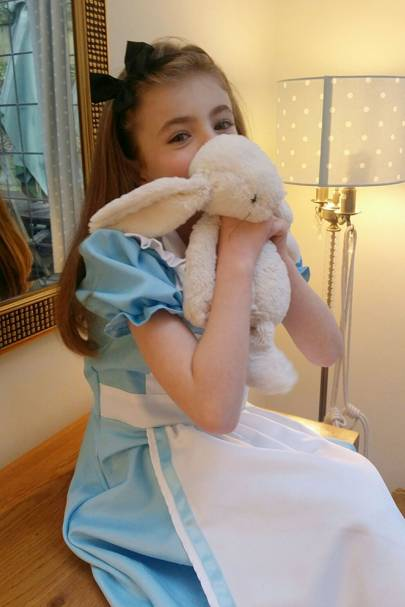 Beatrice Copeland as Alice in Wonderland