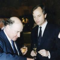 Edward Garrett and Tim Steel