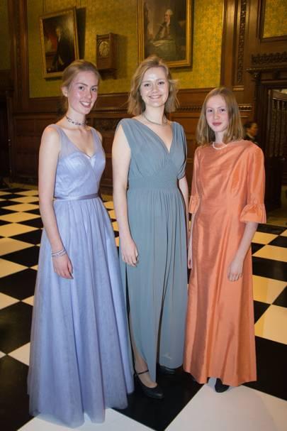 Matilda Prentis, Alexandra Berney-Stewart and Cressida Prentis