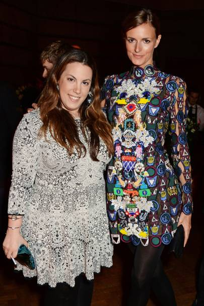 Mary Katrantzou and Jacquetta Wheeler