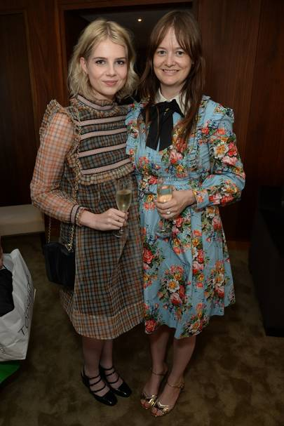 Lucy Boynton and Leith Clark
