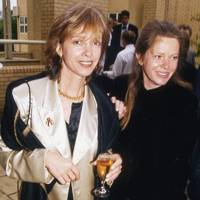 Sabrina Guinness and the Hon Mrs Amschel Rothschild