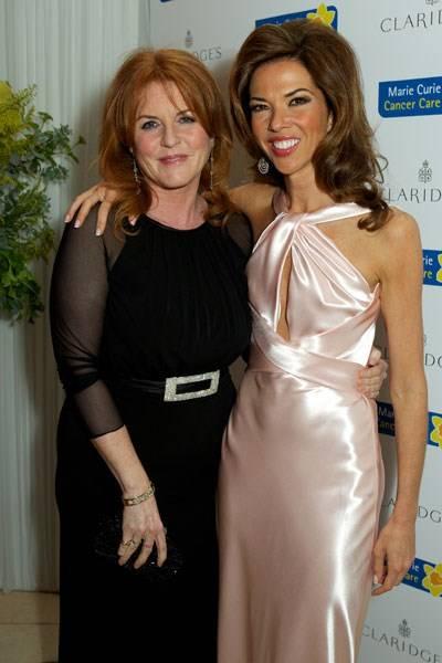 Sarah Duchess of York and Heather Kerzner