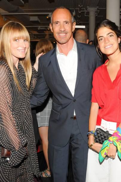 Amy Astley, Carl Barbato and Leanra Medine