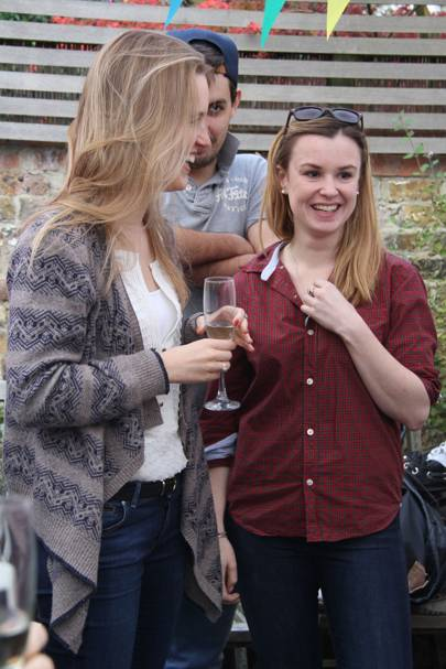 Laura Fleur Round and Victoria Tawse