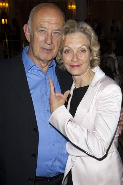 Roy Marsden and Jenny Seagrove