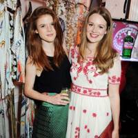 Rose Leslie and Cara Theobold