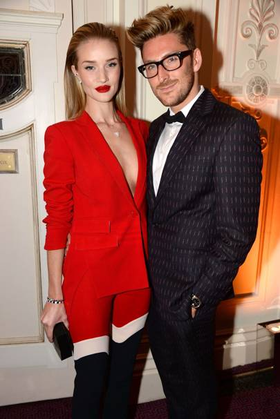 Rosie Huntington-Whiteley and Henry Holland