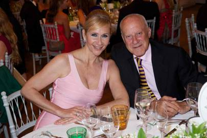 Tania Bryer and Lord Foster