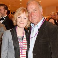 Claire Skinner and Geoffrey Palmer