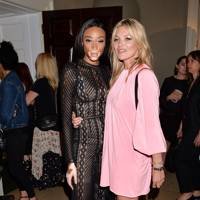 Winnie Harlow and Kate Moss