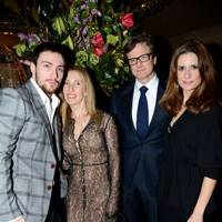 Aaron Taylor-Johnson, Sam Taylor-Johnson, Colin Firth and Livia Firth
