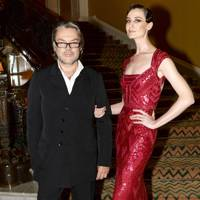 David Downton and Erin O'Connor