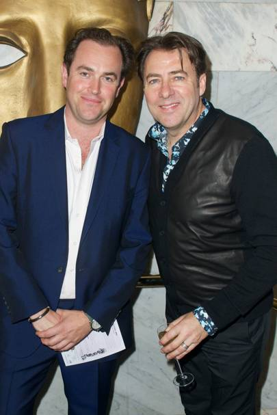 Simon Davis and Jonathan Ross