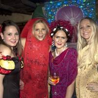 Clare Schifano, Sophie Markwick, Katherine Pitcher and Emma Samuel