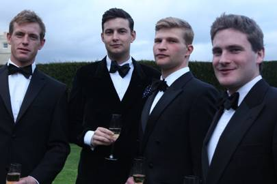 Will Harris, Hamish Hardy, Ben Conway and James Garton