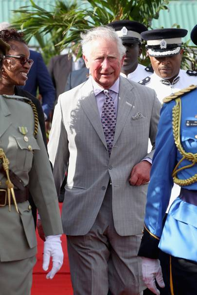 Prince Charles starts his 12-day Commonwealth tour in St Lucia