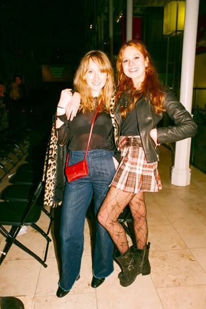 Emily Falcon and Pie Herring