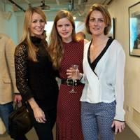 Anneke von Trotha Taylor, Katie Readman and Olivia Francis