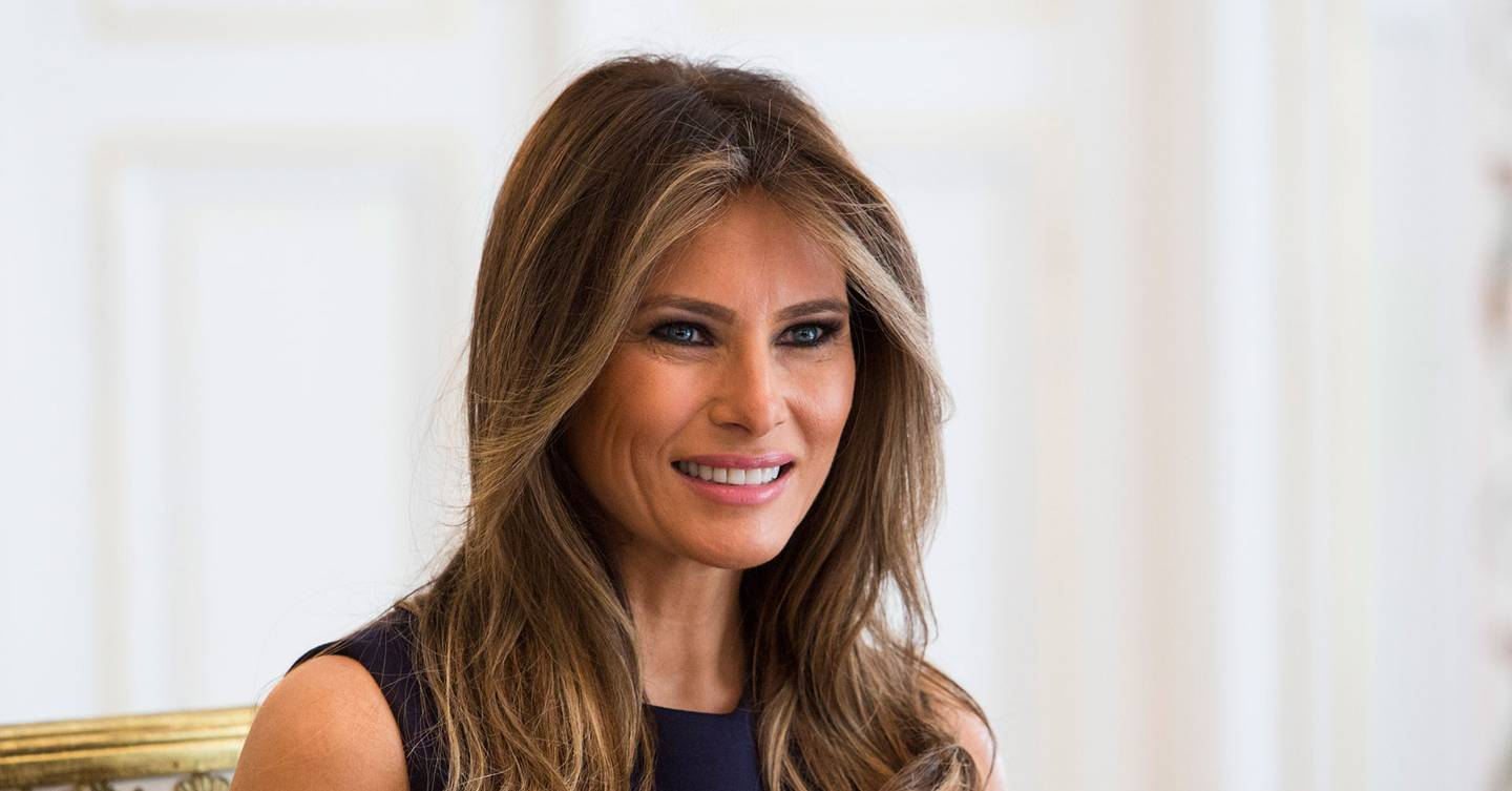Melania Trump statue removed after being set on fire