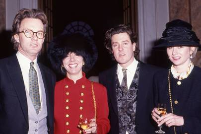 John Leveson, Mrs John Leveson, Kent Shively and Mrs Kent Shively