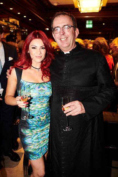 Dianne Buswell and the Reverend Richard Coles