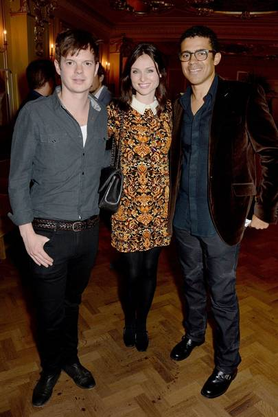 Richard Jones, Sophie Ellis-Bextor and Sindika Dokolo