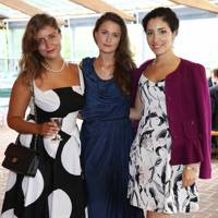 Maria Louisa Ferro, Emily Lynch and Patricia Romero