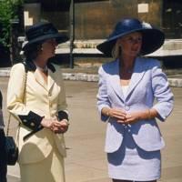 Dr Philip Edmondson, Mrs Philip Edmondson and Camilla Edmondson