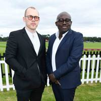 Alec Maxwell and Edward Enninful
