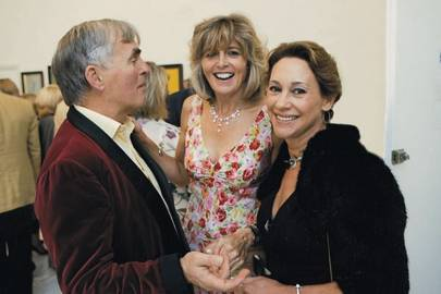 Francis Fulford, Lady Caroline Wrey and Andrea De Vogel
