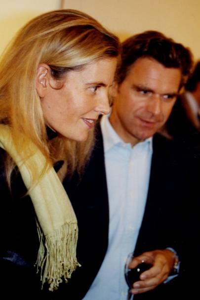 Mrs Clemens von Guggenberg and Clemens von Guggenberg
