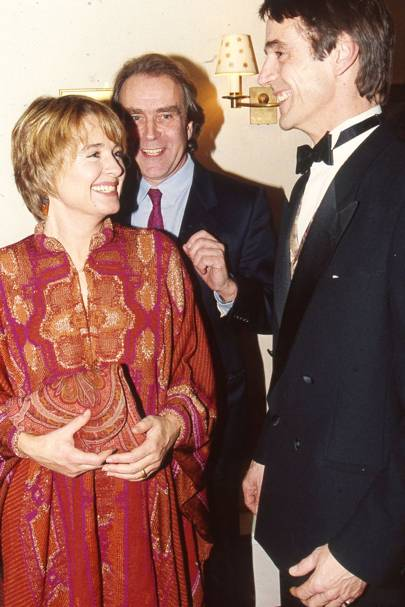 Sinéad Cusack, Gerald Scarfe and Jeremy Irons