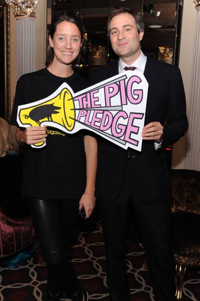 India Langton and Ben Goldsmith