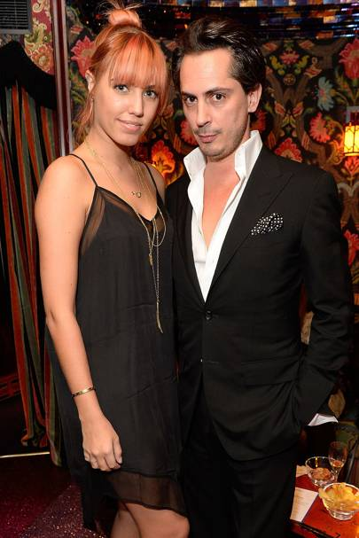 Amber Le Bon and Kilian Hennessy