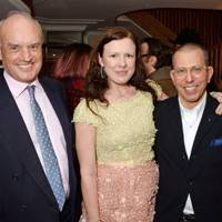 Nicholas Coleridge, Katie Grand and Jonathan Newhouse