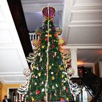 Stefano Gabbana's Christmas tree at Claridge's