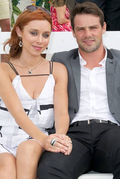 Una Healey and Ben Foden