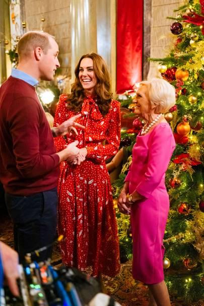 Duke And Duchess Of Cambridge Christmas 2020 Duke and Duchess of Cambridge in Mary Berry Christmas TV Special