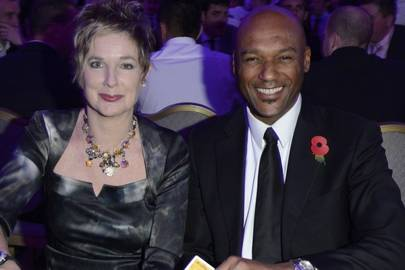 Fiona Hawthorne and Colin Salmon