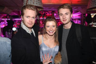 Oli Moore, Laura Dean and Dougie Foster