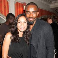 Rosario Dawson and Chucky Venn