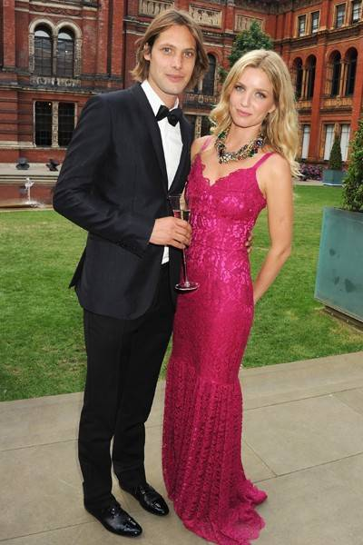 James Rousseau and Annabelle Wallis