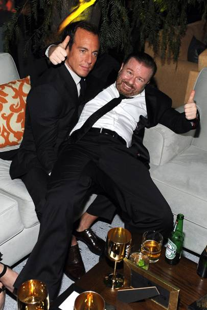 Will Arnett and Ricky Gervais