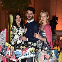 Charlotte Dellal, Fernanda Abdallah and Billal Taright