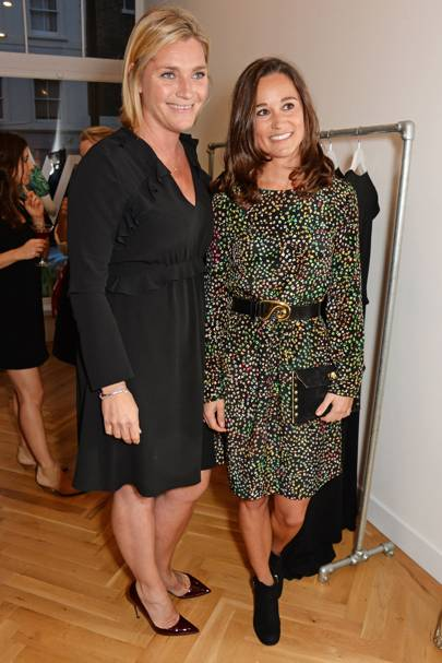 Tabitha Somerset Webb and Pippa Middleton