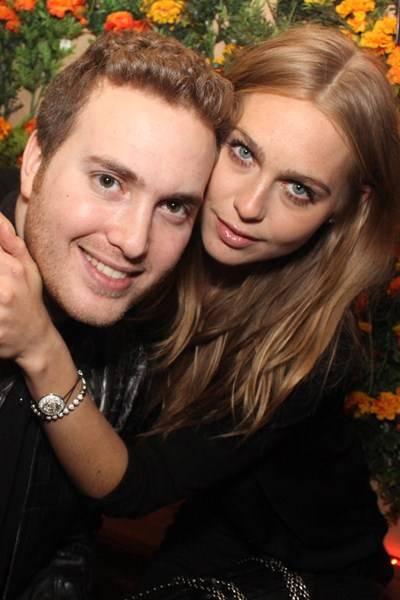 Chris Bauer and Victoria Elagina