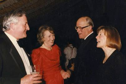 Guy Renwick, Mrs Raleigh Trevelyan, Raleigh Trevelyan and Janet Fenwicke-Clennell